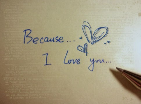 I Love You Because Quote 5 Picture Quote #1