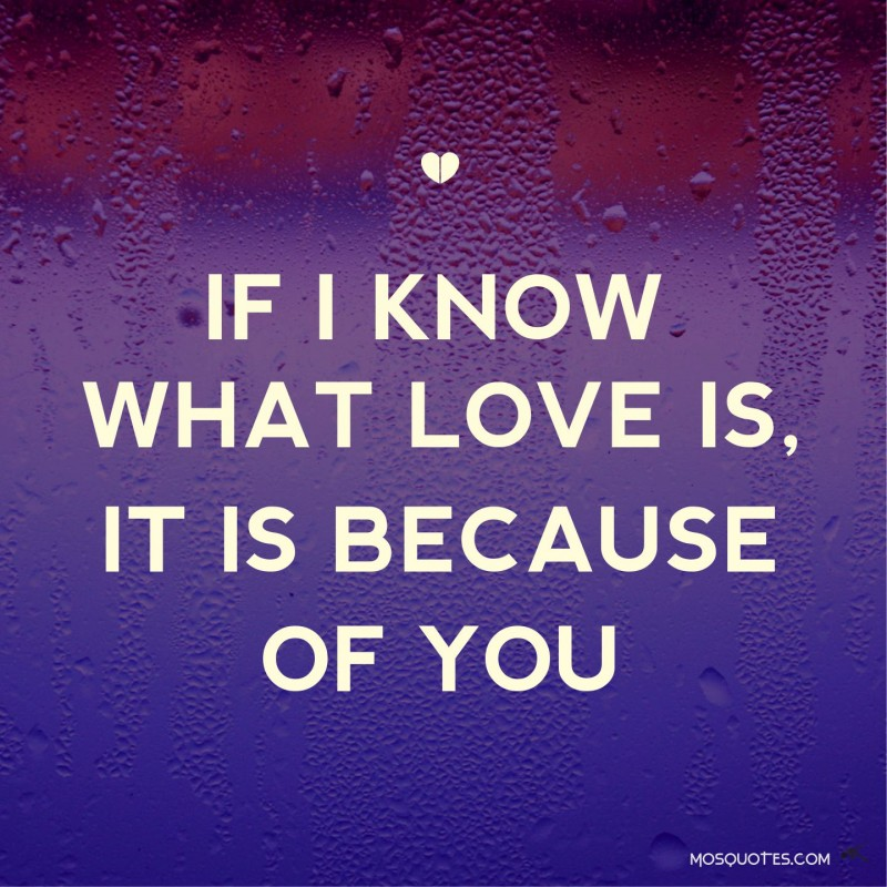 I Love You Because Quotes