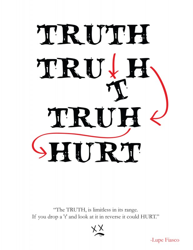 Truth Hurts Quote 4 Picture Quote #1