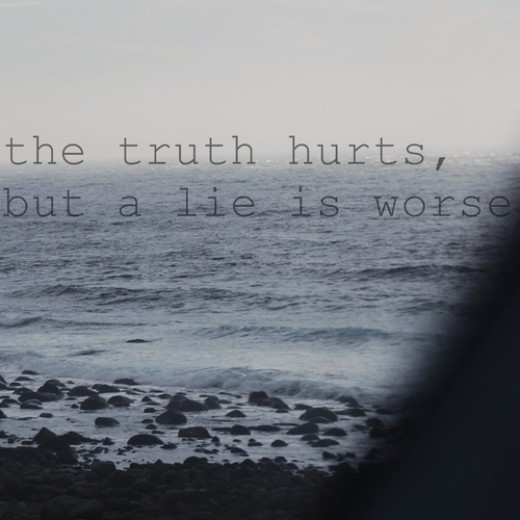 Truth Hurts Quote 6 Picture Quote #1