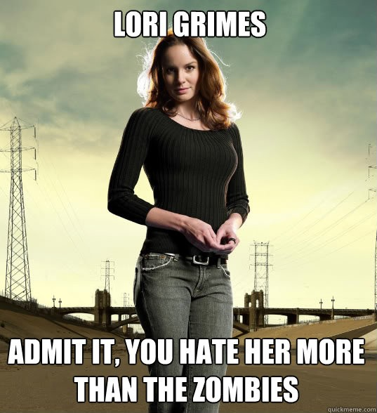 Walking Dead Quotes | Lori Walking Dead Quote Quote Number 619986 Picture Quotes