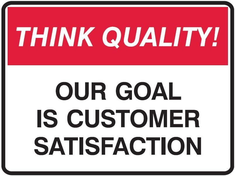 Customer Satisfaction Quote Sayings 1 Picture Quote #1