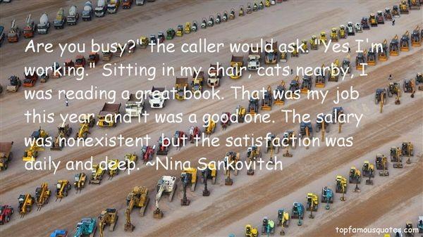 Job Satisfaction Quote 1 Picture Quote #1