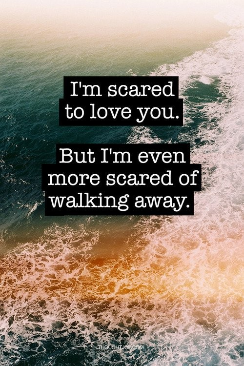 Im Scared Quote 1 Picture Quote #1