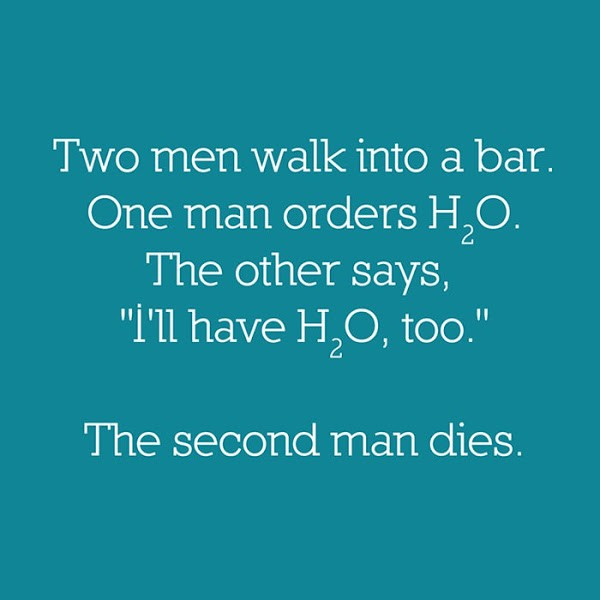 Funny Chemistry Quote Quote Number 620086 Picture Quotes