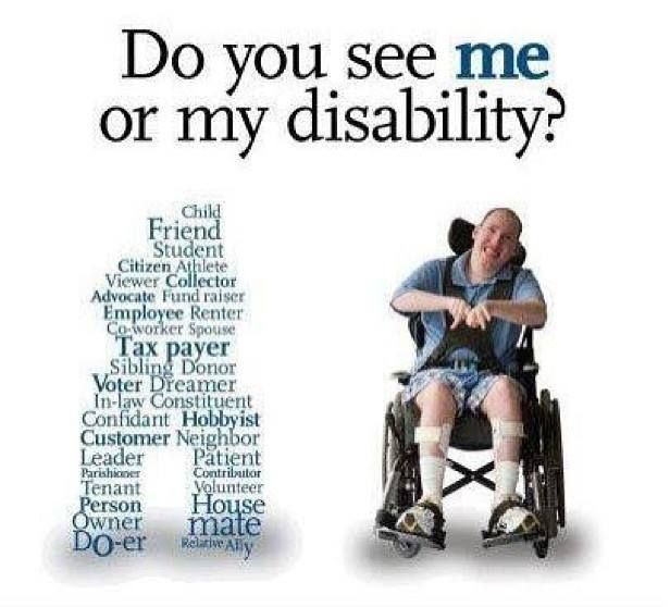 Disability Quotes Mesmerizing Disability Discrimination Quote  Quote Number 620120  Picture Quotes
