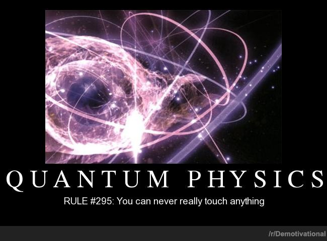 Quantum Physics Quote 1 Picture Quote #1