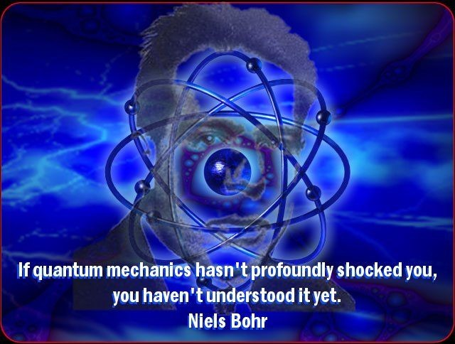 Quantum Physics Quote 3 Picture Quote #1