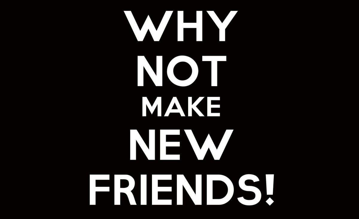Making New Friends Quote 1 Picture Quote #1