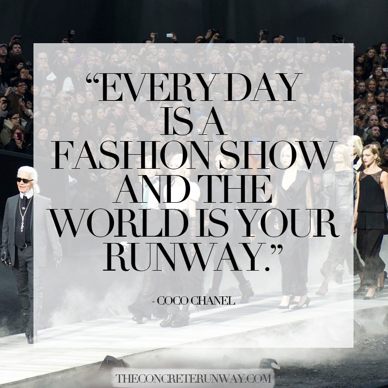 Runway Model Quote 1 Picture Quote #1