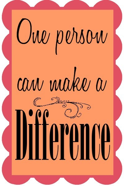 Making A Difference Quote 1 Picture Quote #1