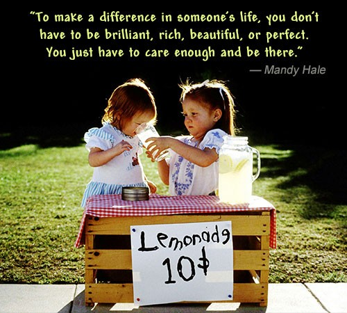Making A Difference Quote 8 Picture Quote #1