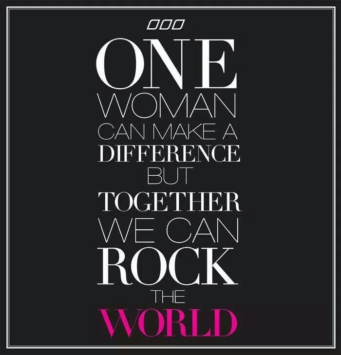 Quote On Making A Difference Together 1 Picture Quote #1