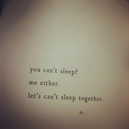 Cant Sleep Quote 12 Picture Quote #1