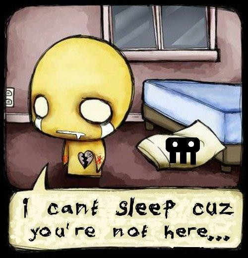I Cant Sleep Quote | Quote Number 620240 | Picture Quotes