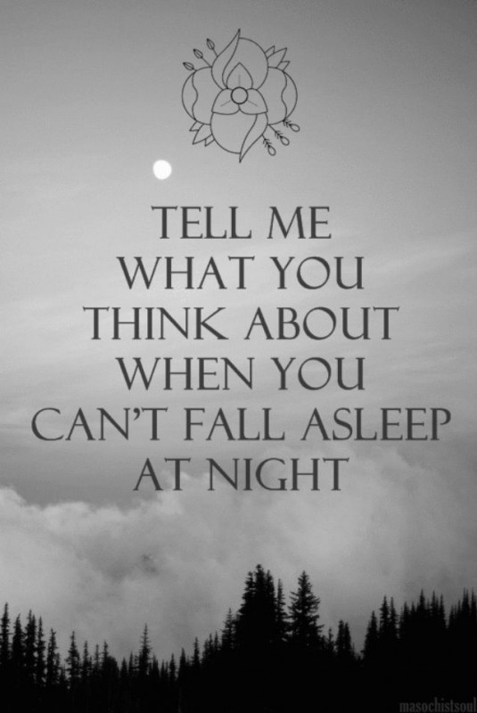 Cant Sleep Quote 17 Picture Quote #1