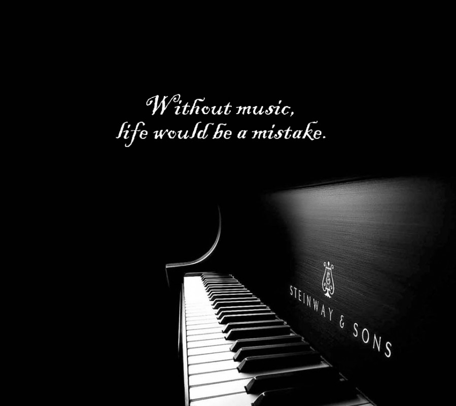 Inspirational Music Quote 5 Picture Quote #1