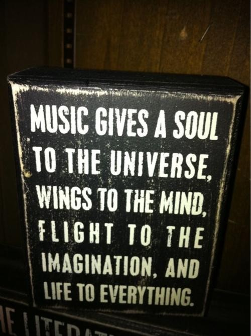 Inspirational Music Quotes Extraordinary Inspirational Music Quote  Quote Number 620267  Picture Quotes