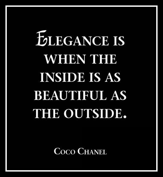 Chanel Elegance Quote 1 Picture Quote #1