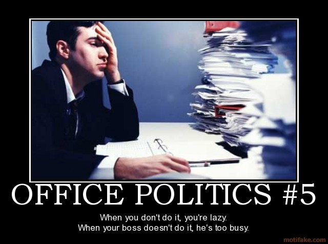 Funny Office Politics Quote 1 Picture Quote #1