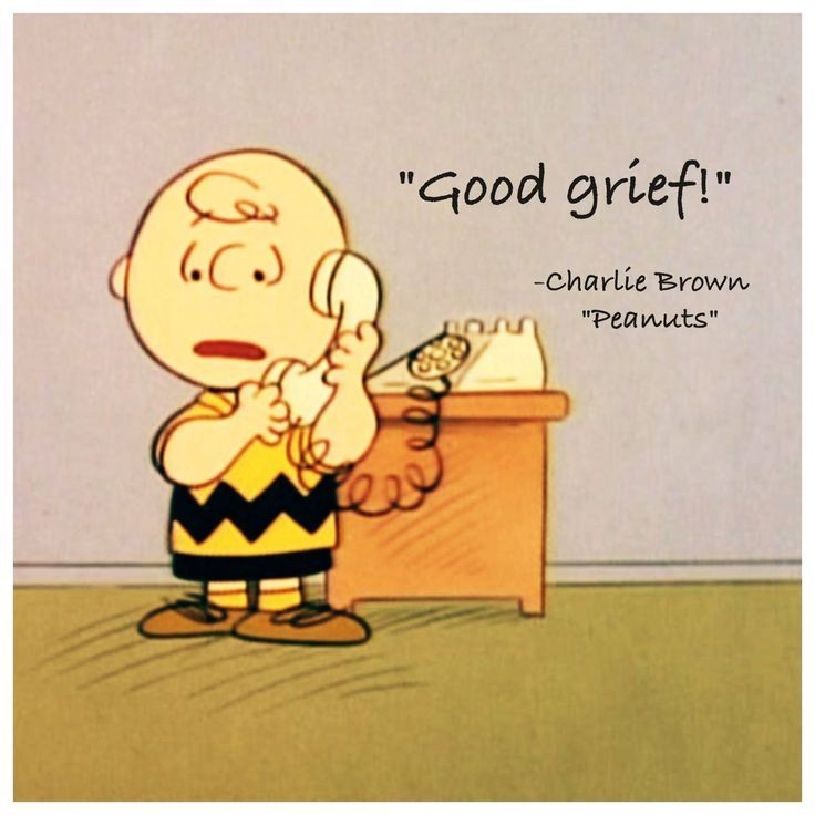 Good Grief Charlie Brown Quote | Quote Number 620357 ...