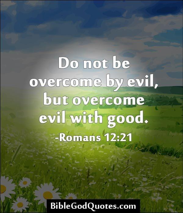 Good Vs Evil Quote 3 Picture Quote #1