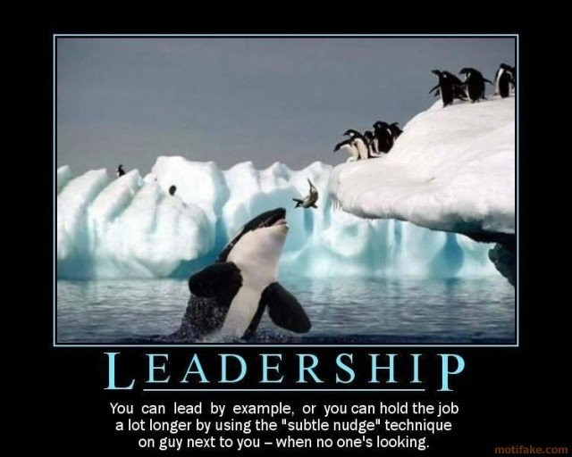 Funny Leadership Quote   Quote Number 620394   Picture Quotes
