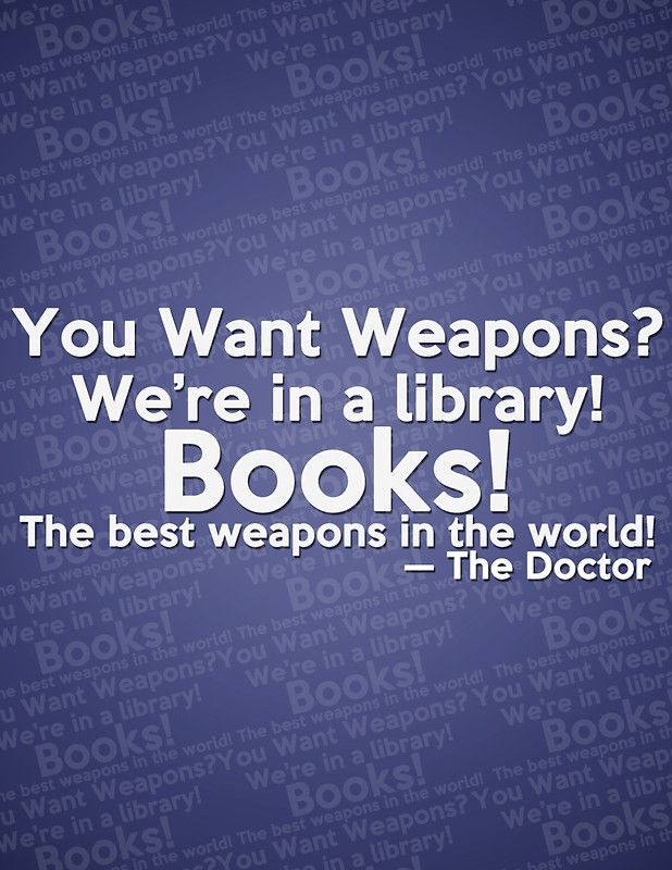 Library Quote 1 Picture Quote #1