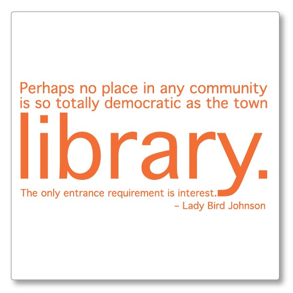 Library Quote 3 Picture Quote #1