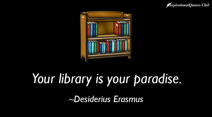 Library Quote Inspirational 1 Picture Quote #1