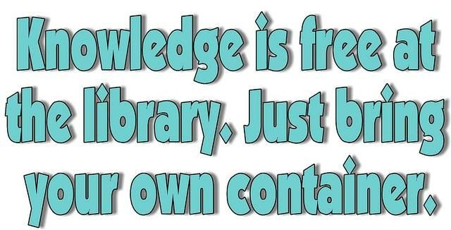great-library-quote-1-picture-quote-1 SPECIES OF PEOPLE I MET IN THE LIBRARY Humor & Satire Most Read