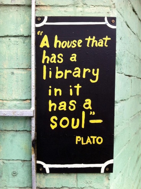 Home Library Quote 1 Picture Quote #1