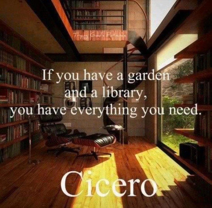 Home Library Quote 2 Picture Quote #1