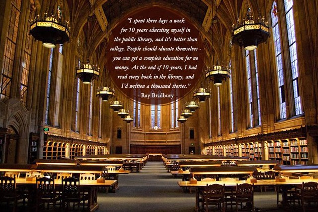 Library Quote 9 Picture Quote #1
