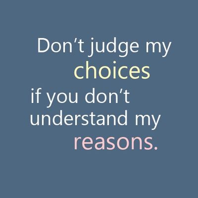 Dont Judge Me Quote 4 Picture Quote #1