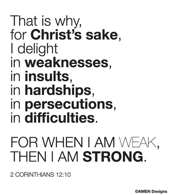 Spiritual Weakness Quote 1 Picture Quote #1