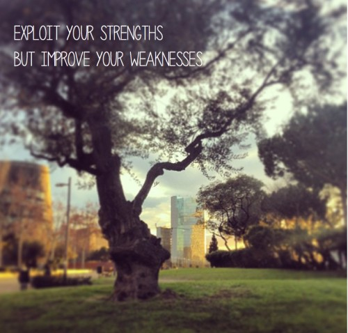 Overcoming Weakness Quote 1 Picture Quote #1