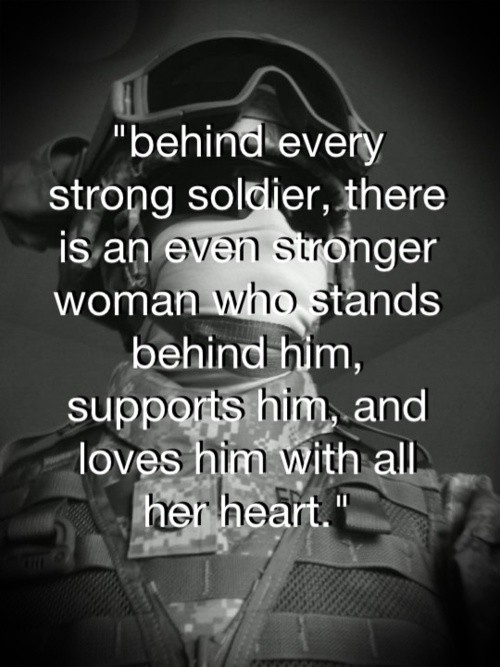 Love Quotes For Him Military : Military Wife Quotes & Sayings Military Wife Picture Quotes