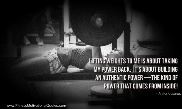 Charmant Weight Lifting Inspirational Quote 1 Picture Quote #1