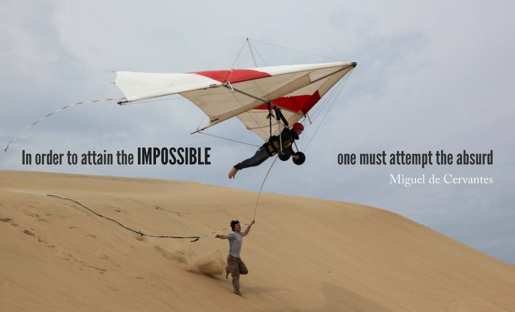 Doing The Impossible Quote 1 Picture Quote #1