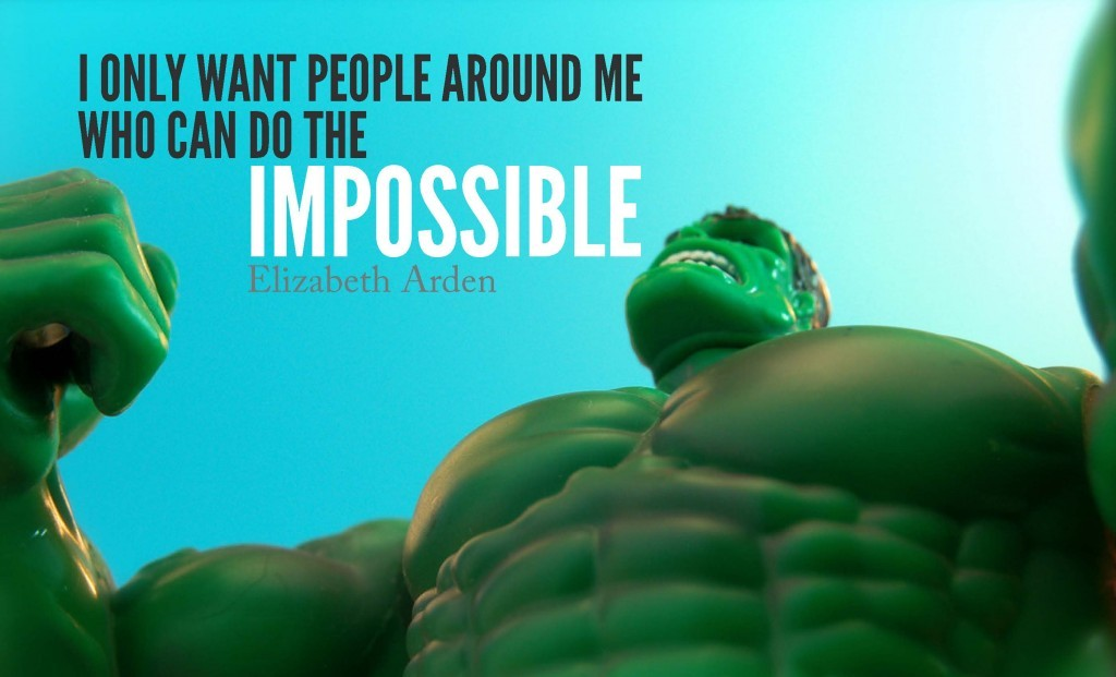 Doing The Impossible Quote 2 Picture Quote #1