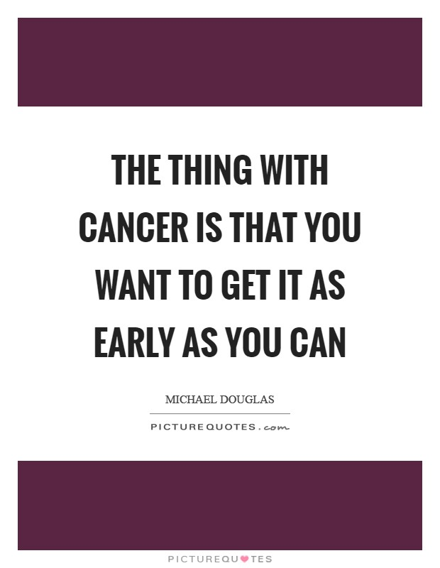 Getting Cancer Quotes & Sayings | Getting Cancer Picture Quotes