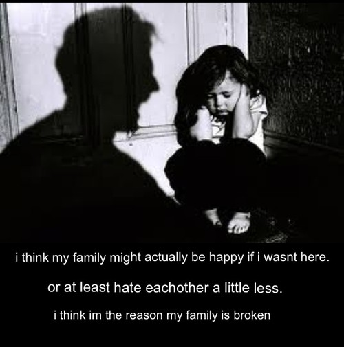 Broken Family Quote 1 Picture Quote #1