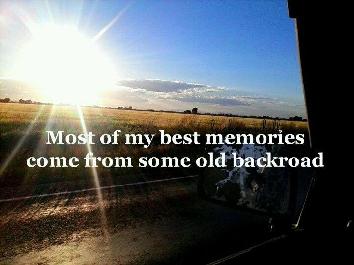 Country Dirt Road Quote 1 Picture Quote #1