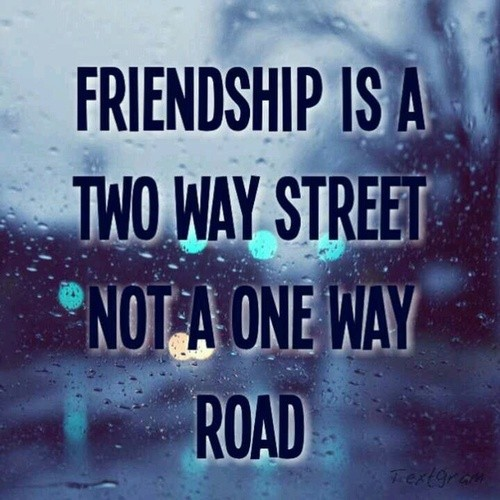 Friendship Road Quote 1 Picture Quote #1