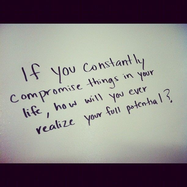 Compromise Quote 4 Picture Quote #1