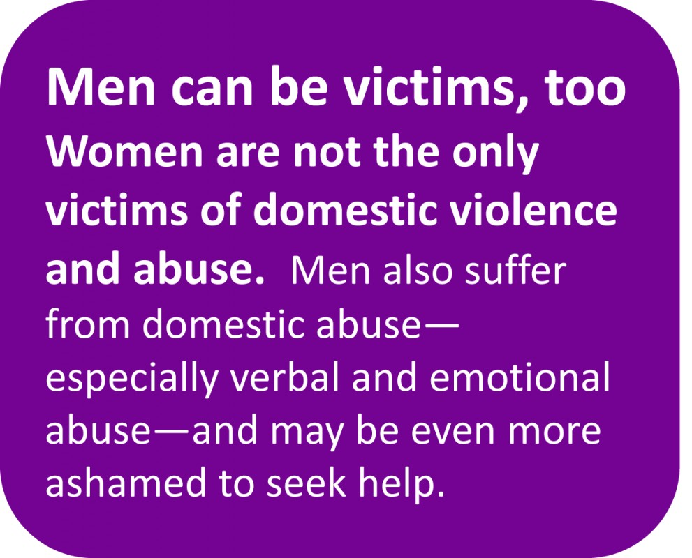 abuse and violence domestic violence 40% of domestic violence is against men in the uk violence is violence, no matter who it's aimed at our helpline costs just £35,000 per year to run, by don.