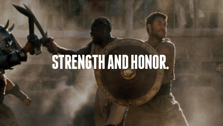 Strength And Honor Quote 1 Picture Quote #1