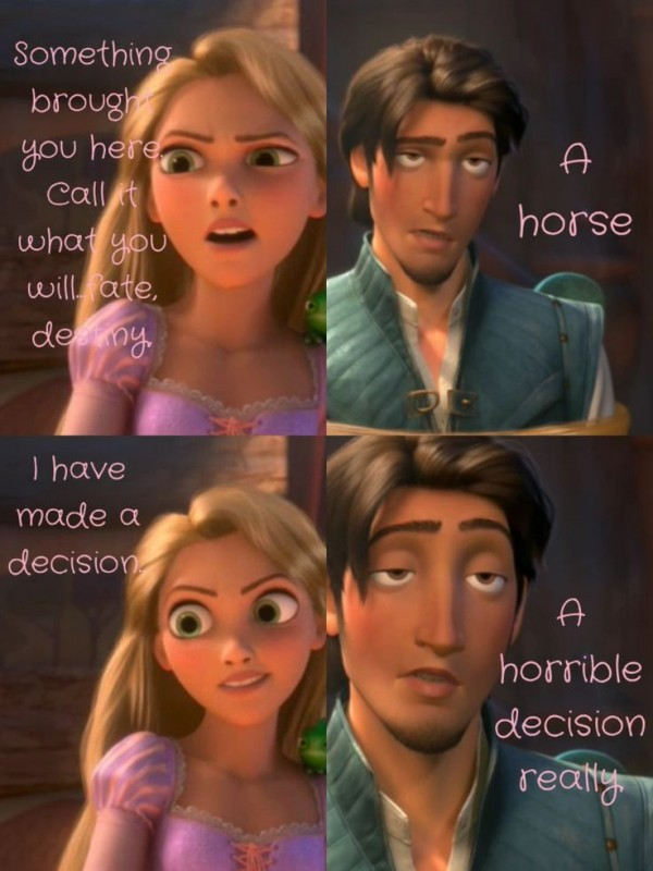 Tangled Funny Disney Quote 1 Picture Quote #1