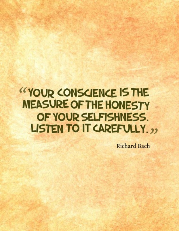 Conscience Quote 3 Picture Quote #1